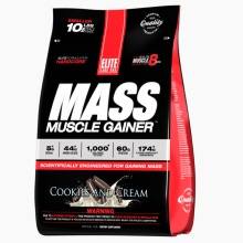 Гейнер Elite Labs Mass Muscle Gainer 9,07 кг