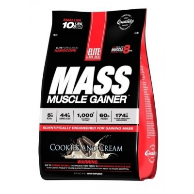 Гейнер Elite Labs Mass Muscle Gainer 4.6 кг